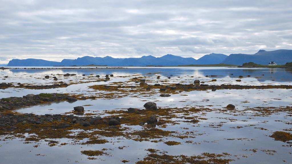 Vy från Langøya, Nordnorge