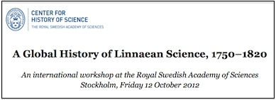 A Global History of Linnaean Science, 1750–1820