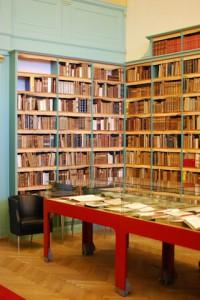Interiör från Hagströmerbiblioteket