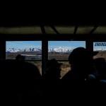 A Denali National Park shuttle bus