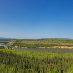 A bend of the Yukon River