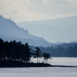 Coastal view near Vancouver Island, British Columbia